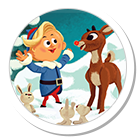 Rudolph the Red Nosed Reindeer and other Character Arts apps