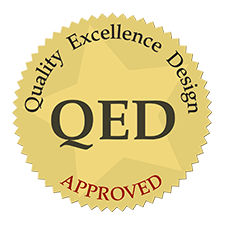 Digital Book World QED Approved Award