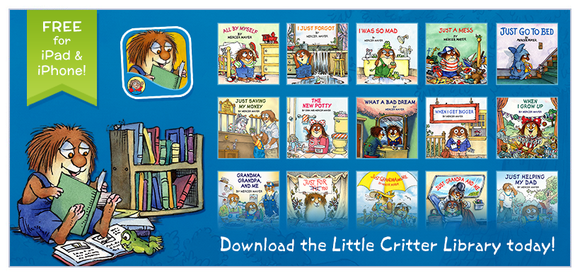 Little Critter Library Available Now